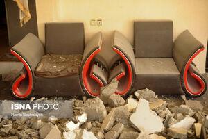 عکس/ انفجار گاز در یک واحد مسکونی در آستارا