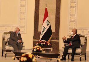 ديدار ظریف با رئيس جمهور عراق