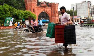 سیل هند و نپال دستکم ۴ میلیون بیخانمان بجا گذاشت +عکس