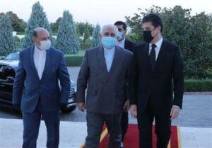 ظریف با رئیس اقلیم کردستان دیدار و گفتوگو کرد