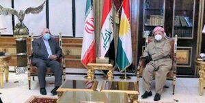 اظهارات مسعود بارزانی در دیدار با ظریف