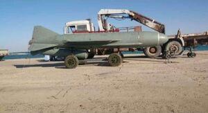 فیلم/ آزمایش ناموفق موشکی در لیبی