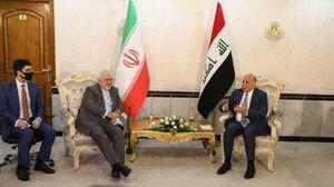 نکته دیپلماتیک سفر ظریف به عراق +عکس