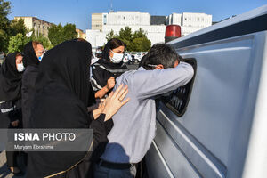 عکس/ دومین پزشک شهید مدافع سلامت در تبریز