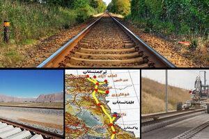 راهآهن «چابهار - زاهدان» جاده ابریشم جدید