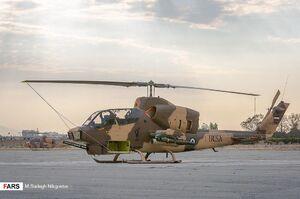 تجهیز بالگردهای هوانیروز سپاه با موشک جدید+عکس