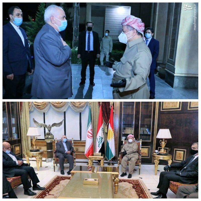 مسعود بارزانی رئیس حزب دموکرات کردستان عراق