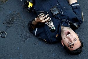 عکس/ وقتی پلیس رنگی میشود