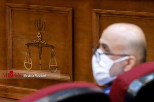 عکس/ سیزدهمین دادگاه اتهامات اکبر طبری