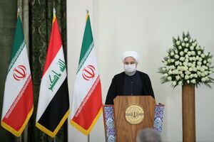 فیلم/ روحانی: اراده ایران و عراق ارتقا روابط تجاری است