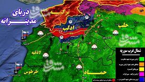 نقشه اردوغان برای فرار از شکست در سوریه چیست؟ + نقشه میدانی و عکس