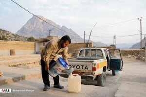عکس/ جهاد آبرسانی در دل کوههای صعبالعبور