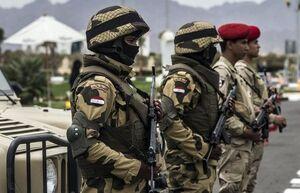 کشته و زخمی شدن نیروهای مصری در انفجاری تروریستی