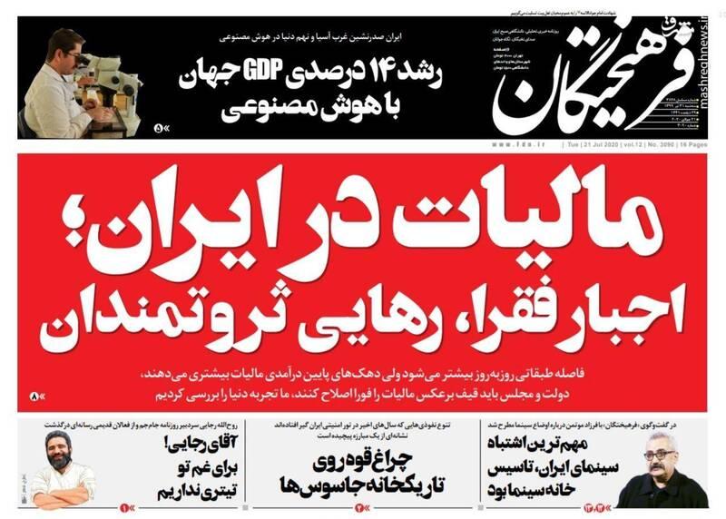 فرهیختگان: مالیات در ایران؛ اجبار فقرا، رهایی ثروتمندان