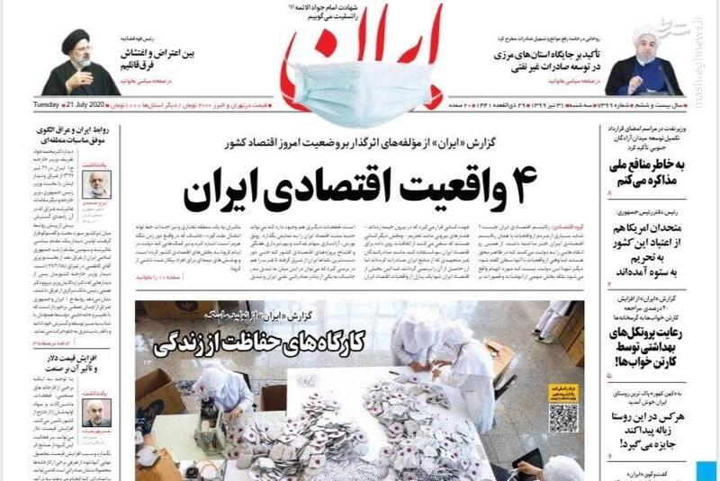 ایران: ۴ واقعیت اقتصادی ایران