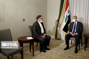 دیدار نخست وزیر عراق با علی شمخانی