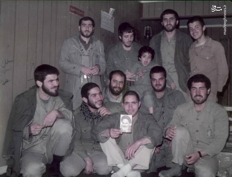 شهید محمدحسین ملکمحمدی و شهید مجید زین الدین