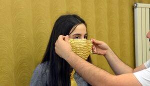 عکس/ ماسک طلا برای عروس خانمها!