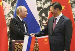 رئیس جمهور چین روسیه
