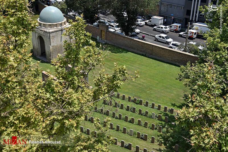 2861629 - عکس/ متفاوتترین قبرستان خارجیها در تهران