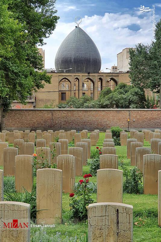 2861634 - عکس/ متفاوتترین قبرستان خارجیها در تهران