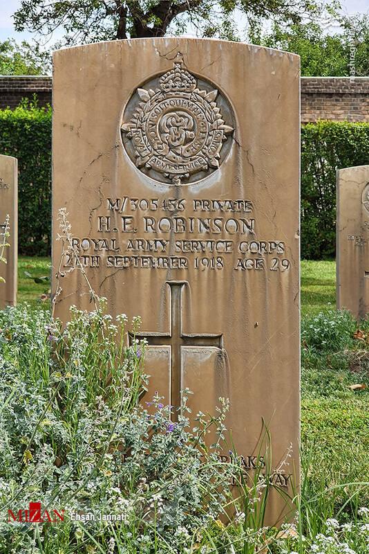 2861638 - عکس/ متفاوتترین قبرستان خارجیها در تهران
