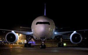 بازگشت هواپیمای ماهان از بیروت به تهران