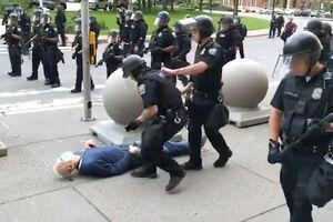 فیلم/ الگو برداری پلیس کانادا از خشونت پلیس آمریکا
