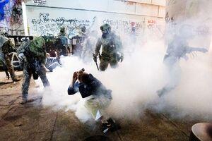 جنگ خیابانی در پورتلند