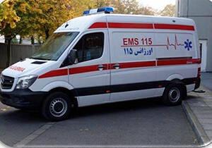 تردد برخی از مسوو لان با آمبولانس