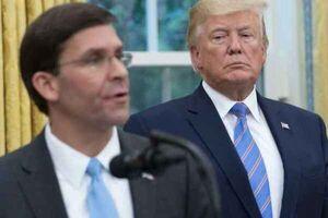 عصبانیت ترامپ از اسپر برای ممنوع کردن پرچم کنفدراسیون