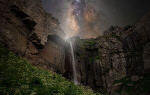 عکس/ کهکشان راه شیری بر فراز سوباتان