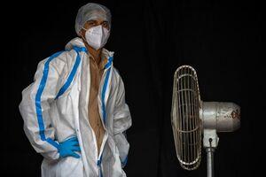 عکس/ حال و هوای پرستاران در سراسر جهان