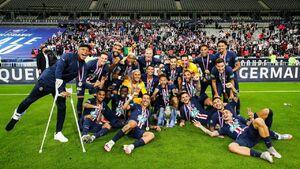 عکس/ رکورددار قهرمانی در جام حذفی فرانسه