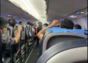 فیلم/ تبریک خلبان هواپیما به پرسپولیسیها
