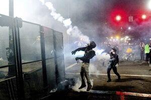 جنگ شهری در خیابانهای پورتلند