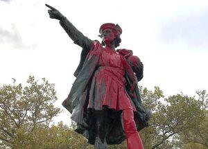 مجسمه کریستوف کلمب