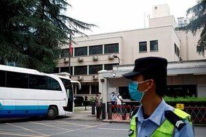 برقراری تدابیر شدید امنیتی بیرون از کنسولگری آمریکا در چنگدو