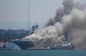 نگرانی نیروی دریایی آمریکا از تکرار آتشسوزی در ناوها