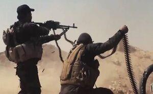 حشدالشعبی حمله سنگین داعش در دیالی را دفع کرد