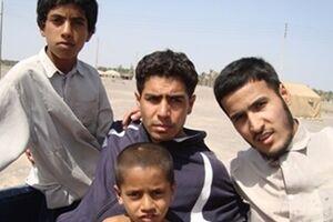 سفرهدار گروههای جهادی سر سفره شهادت نشست+ تصاویر - کراپشده