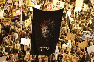 برگزاری تظاهرات همزمان علیه نتانیاهو در ۱۸ شهر جهان
