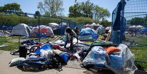 بیخانمانی در آمریکا؛ یک مشکل غیر اقتصادی +عکس