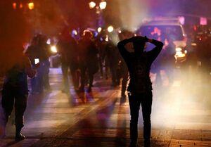 درگیری ماموران فدرال آمریکا با معترضان در پورتلند