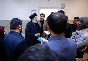 بازدید سرزده حجت الاسلام رئیسی از مجتمع قضائی لواسانات