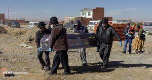 کشف بیش از ۴۰۰ جسد مشکوک به کرونا