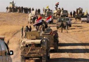 کشف انبار مهمات داعش در سامرا توسط حشدالشعبی