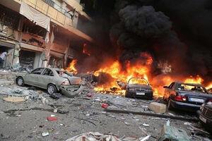 وقوع انفجار در پادگانی در جنوب بغداد +فیلم