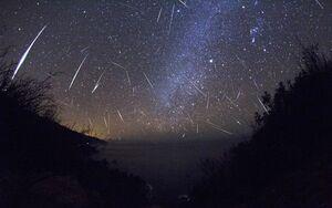 آسمان امشب شهاب باران میشود +عکس