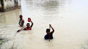 تصاویری از سیل مرگبار در هند